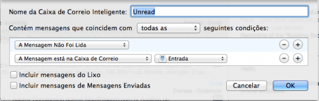 Como organizar seus emails com Mail.app