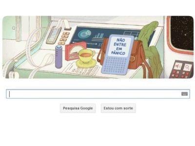 Douglas Adams é o homenageado da vez pelo Google
