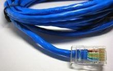 O que � o cabo de rede par tran�ado?
