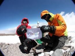 Google Street View está presente nas grandes montanhas no mundo