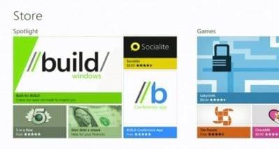 Windows Store já conta com mais de 50 mil apps