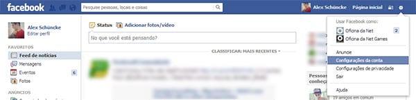 Recebo e-mails de recuperação de senha do Facebook, mas não solicitei! E agora?