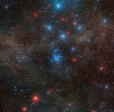 Telescópio do Observatório La Silla avista formação jovem de estrelas