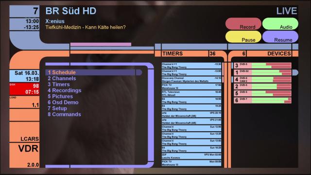 VDR: Nova versão do gravador de vídeo no Linux