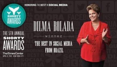 Dilma Bolada do Twitter vence novamente o