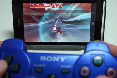 Sony anuncia suporte do controle DualShock 3 para smartphones da linha Xperia