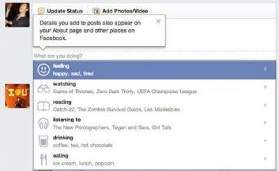 Usuários contam com novos emoticons na atualização de status