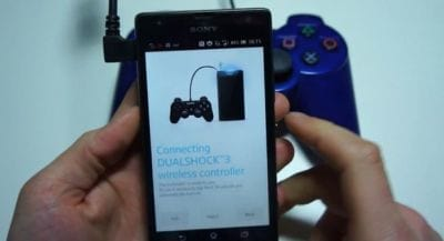 Linha Xperia terá suporte de controle do PS3