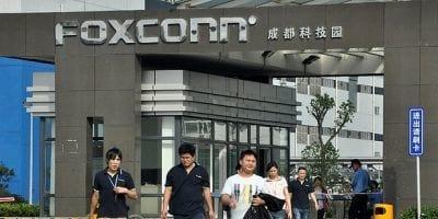 Foxconn tem queda nas vendas e a culpa pode ser da Apple, diz analista