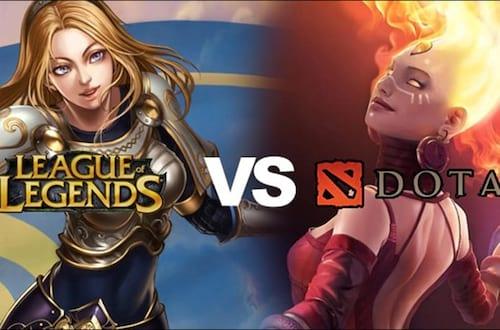League of Legends perde o posto de game mais jogado na Europa e Estados Unidos, para o game Dota 2