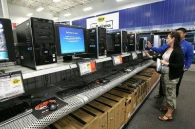 Venda de PCs registra grande queda