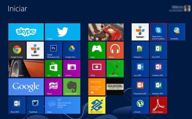 O que é Skype para Windows 8