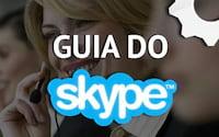 Como iniciar uma conversa via chat, com voz ou com vídeo em grupo no Skype?