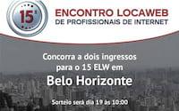 Promoção: Sorteio de 2 ingressos para o 15 ELW de Belo Horizonte