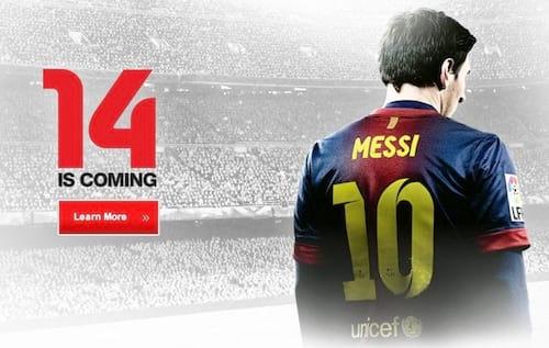 FIFA 14 chegará as lojas no final de 2013 com novidades