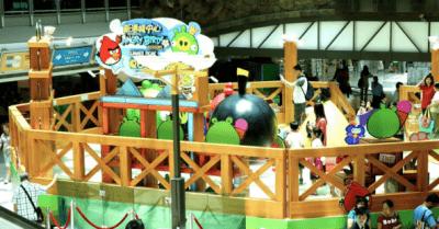 Rede de shoppings BRMalls fecha parceria com a Rovio, produtora do game Angry Birds