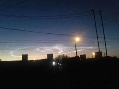 Bola de fogo � vista na Argentina