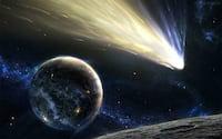 Telescópio Hubble captura imagem de cometa de brilho intenso