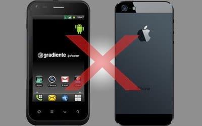 Justiça bloqueia o uso da marca iPhone de uso exclusivo no Brasil pela Gradiente