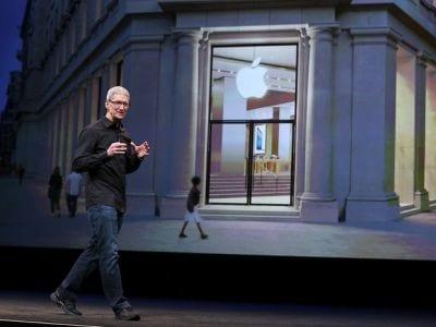 Apple anuncia queda nos lucros da empresa