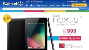 Metade das unidades do Nexus 7 já foram vendidas no Brasil
