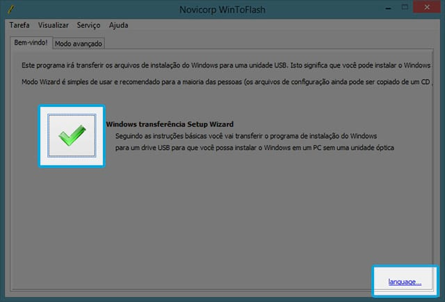 Como instalar o Windows 8 a partir do pendrive