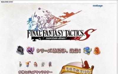 É anunciado um novo episódio de Final Fantasy Tactics para Android e iOS