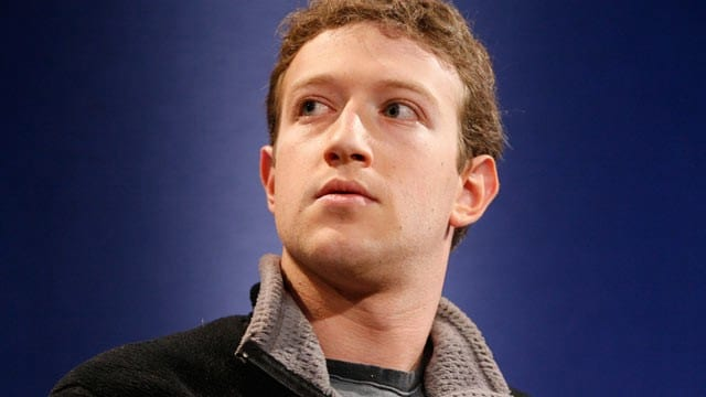 Mark Zuckerberg salário de US$ 1