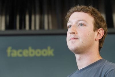Mark Zuckerberg salário de US$ 1