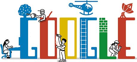 Google faz doodle para o dia do trabalho