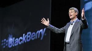 CEO da BlackBerry não acredita na longevidade de tablets