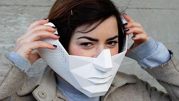 Estudantes desenvolvem máscara com superpoderes