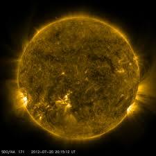 Atuais erupções solares não causarão danos a Terra