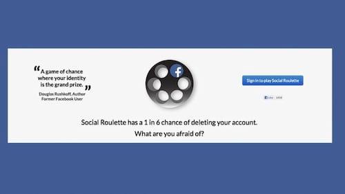 Social Roulette é retirado do Facebook