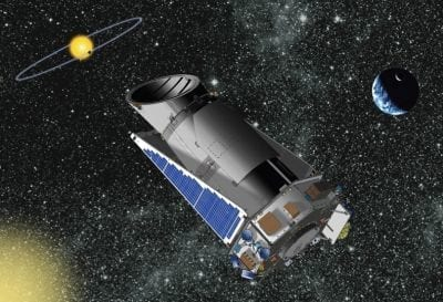 NASA detecta problemas em um dos giroscópios do telescópio Kepler