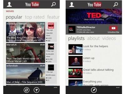 Google e Microsoft entram em conflito por causa de app do YouTube