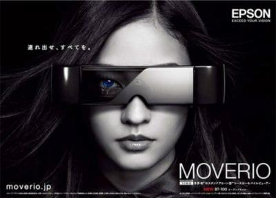 Epson apresenta o Moverio, o seu óculos de realidade aumentada