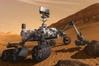 Curiosity perfura segunda rocha em Marte, informa Nasa