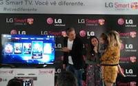 LG lança TVs inteligentes com controle remoto com reconhecimento de voz