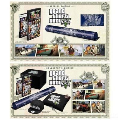 Edições especiais de GTA 5 são lançadas