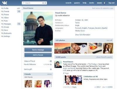 Após engano, famosa rede social russa é proibida pelas autoridades