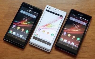 Sony lança Xperia SP e L no Brasil