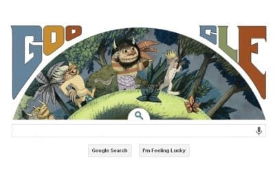 Google doodle homenageia Maurice Sendak