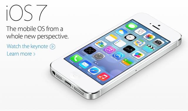 Apple apresenta iOS 7