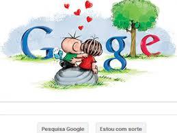 Google junta Cebolinha e Mônica para comemorar o Dia dos Namorados