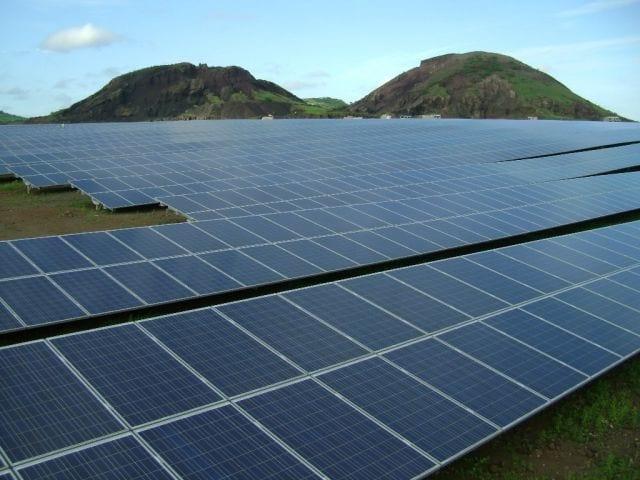 Parques de capatação de elergia solar
