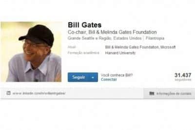 Conecte-se e aprenda com Bill Gates no Linkedln