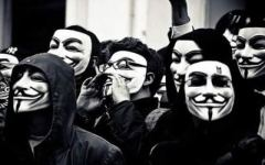 Página principal do Anonymous no Facebook sai do ar