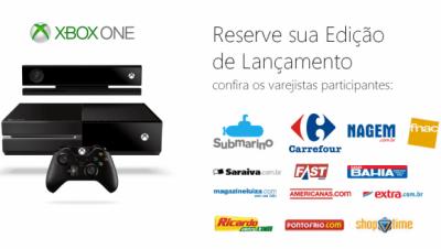 Xbox One entra em pré-venda no Brasil