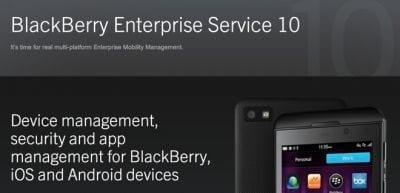 App da BlckBerry está disponível para Android e iOS